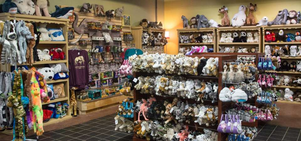Leopard Spot gift shop stuffed animals