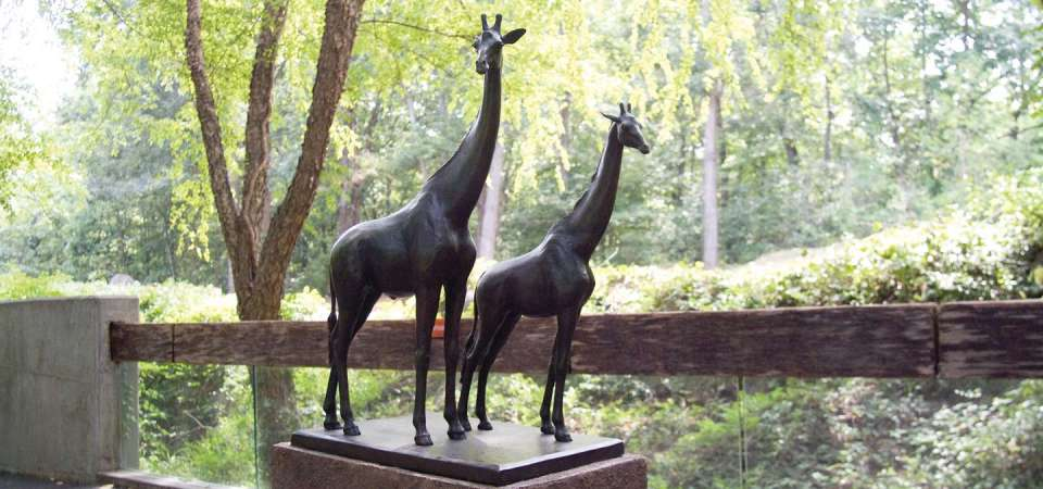 Giraffes Sculpture