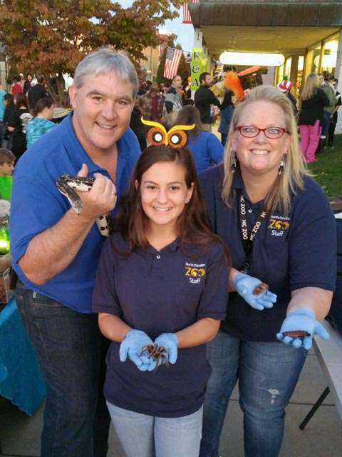 Community educators at Fall Festival